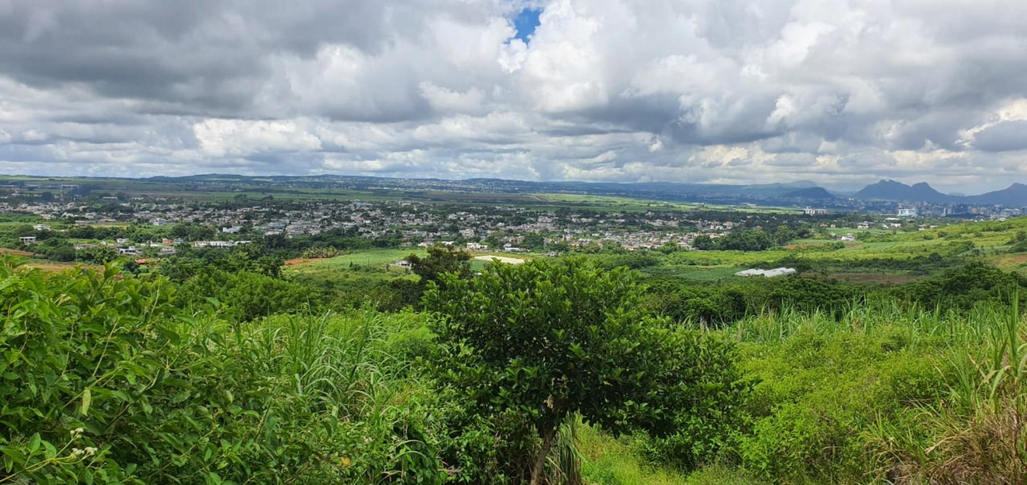 For sale – Magnificent agricultural land of 1049 toises in Petit Verger, Saint Pierre.