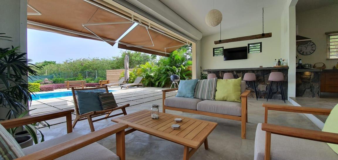A VENDRE – Somptueuse maison non-meublée de 205 m2 à Mont Mascal Cap Malheureux.