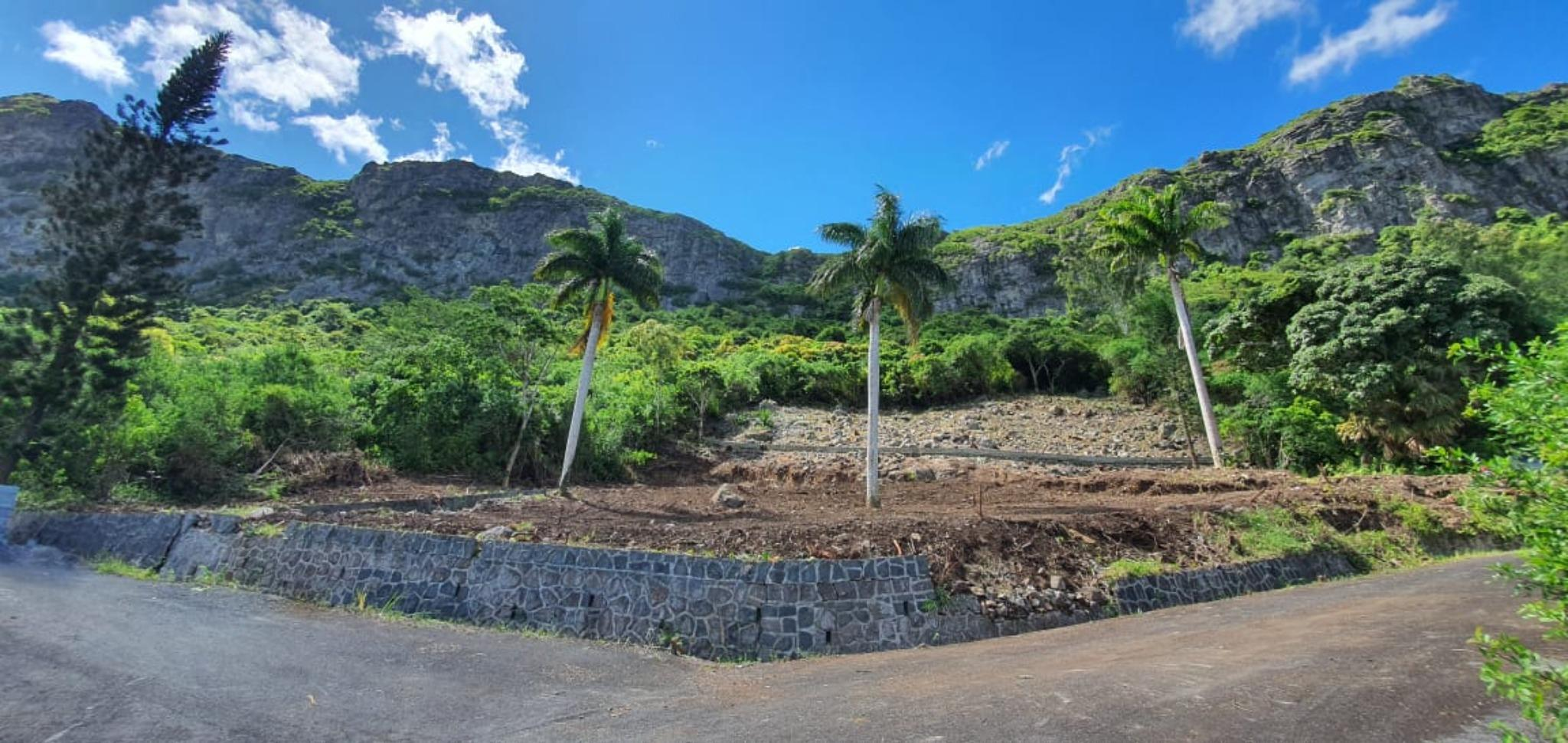 For sale wonderful freehold land of 1 acre 23 is situated in Moka.