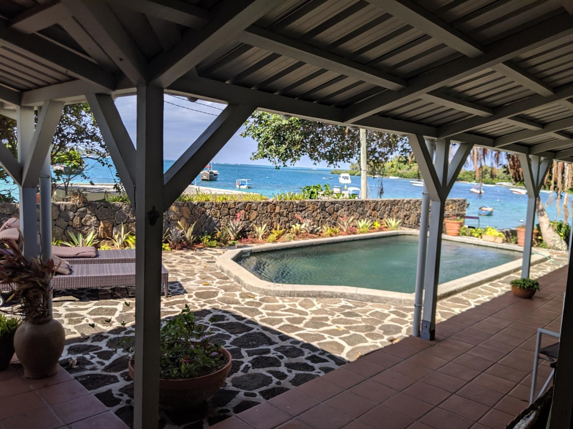 FOR SALE – Beautiful beachfront house of 169 m2 in Trou D'eau Douce