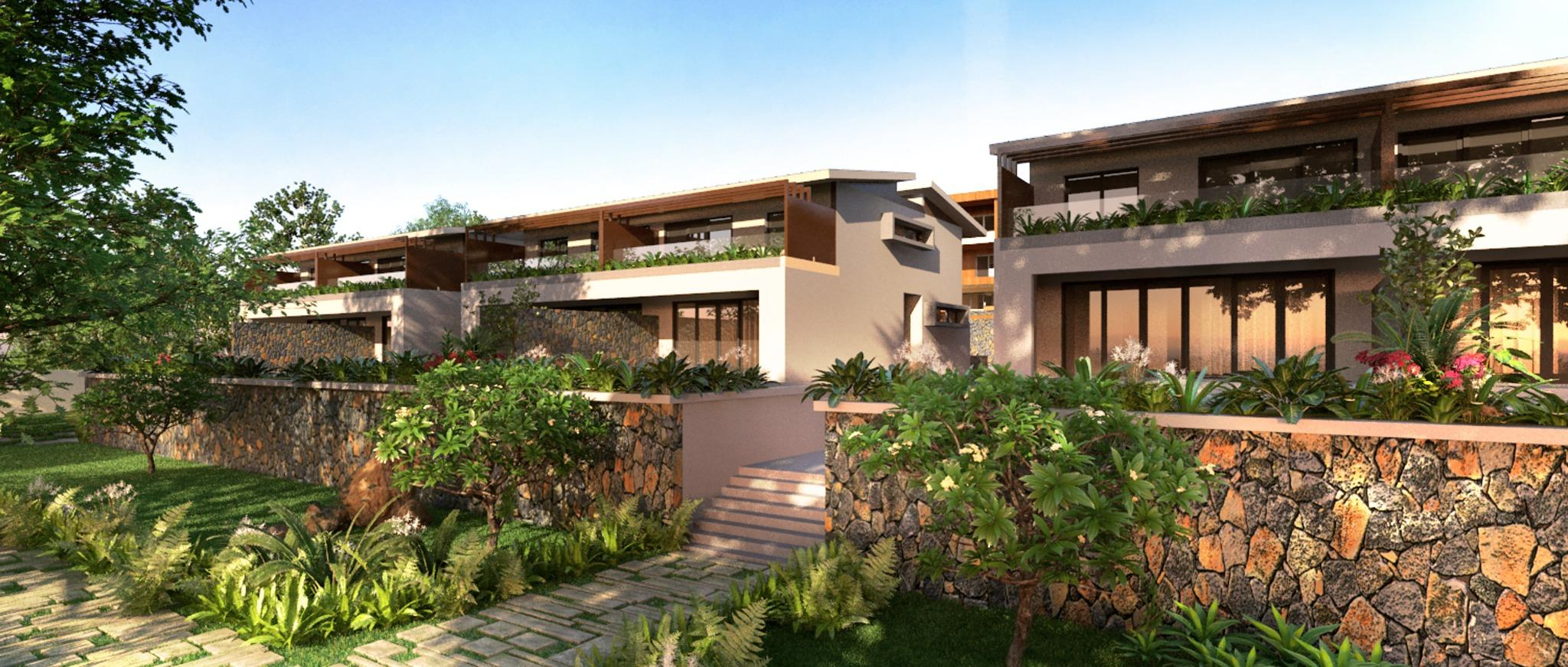 FOR SALE – Last unit Townhouse (ground floor + 1st floor) available on the project in Floreal