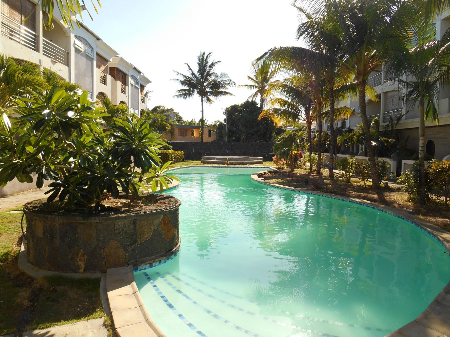 FOR SALE – Nice duplex of 185 m2 in Grand Bay, 2 minutes away from the beach.