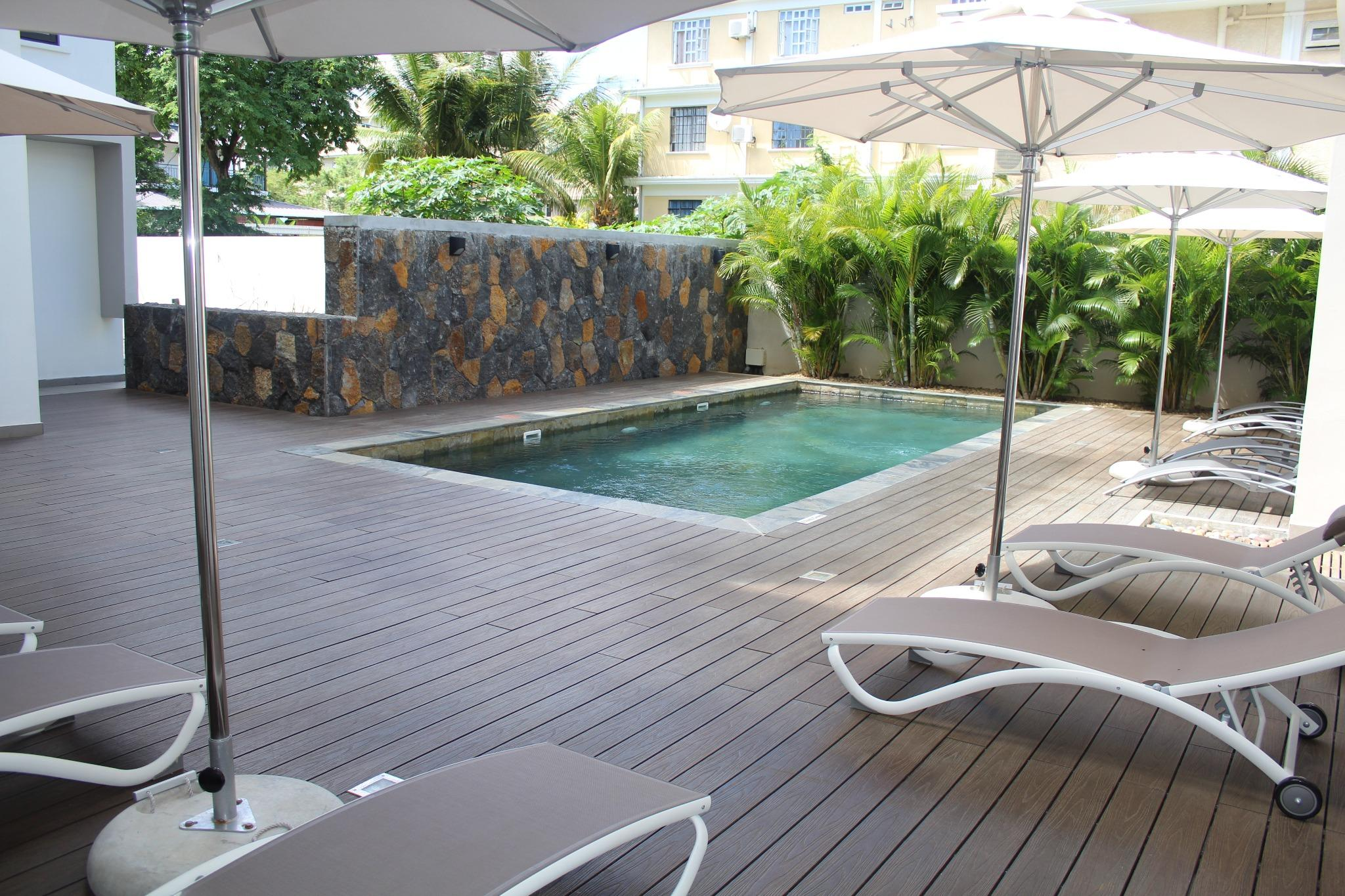 """To rent – Beautiful apartment of 120 m2 in Residence """"Liberty Drive"""" in Mon Choisy."""