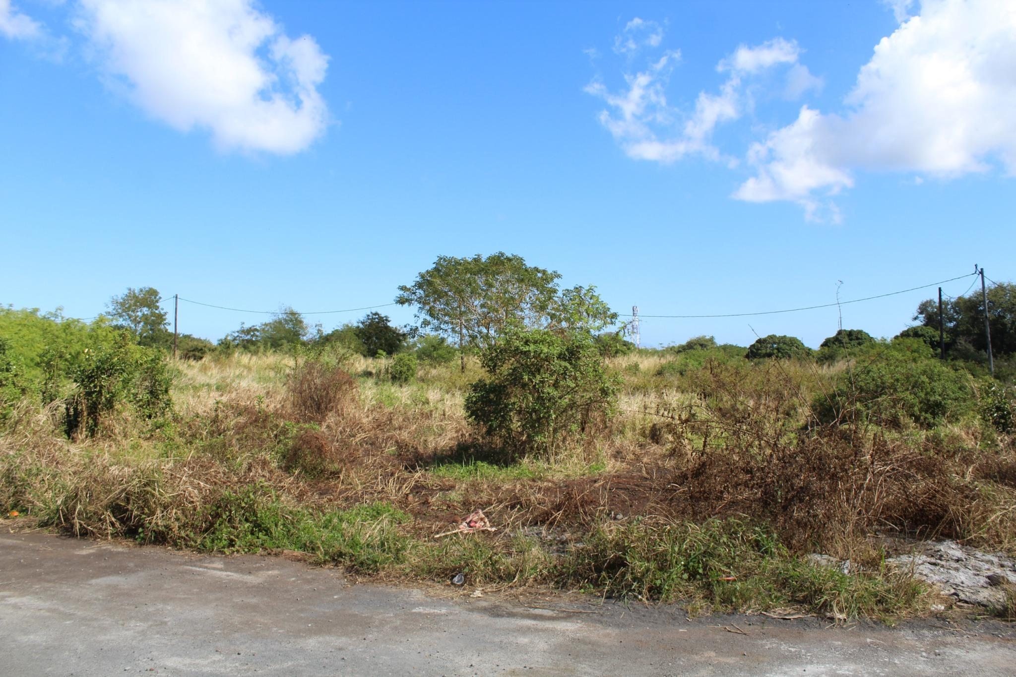 FOR SALE – Beautiful land of 160 toises in a residential area in Pointe aux Piments