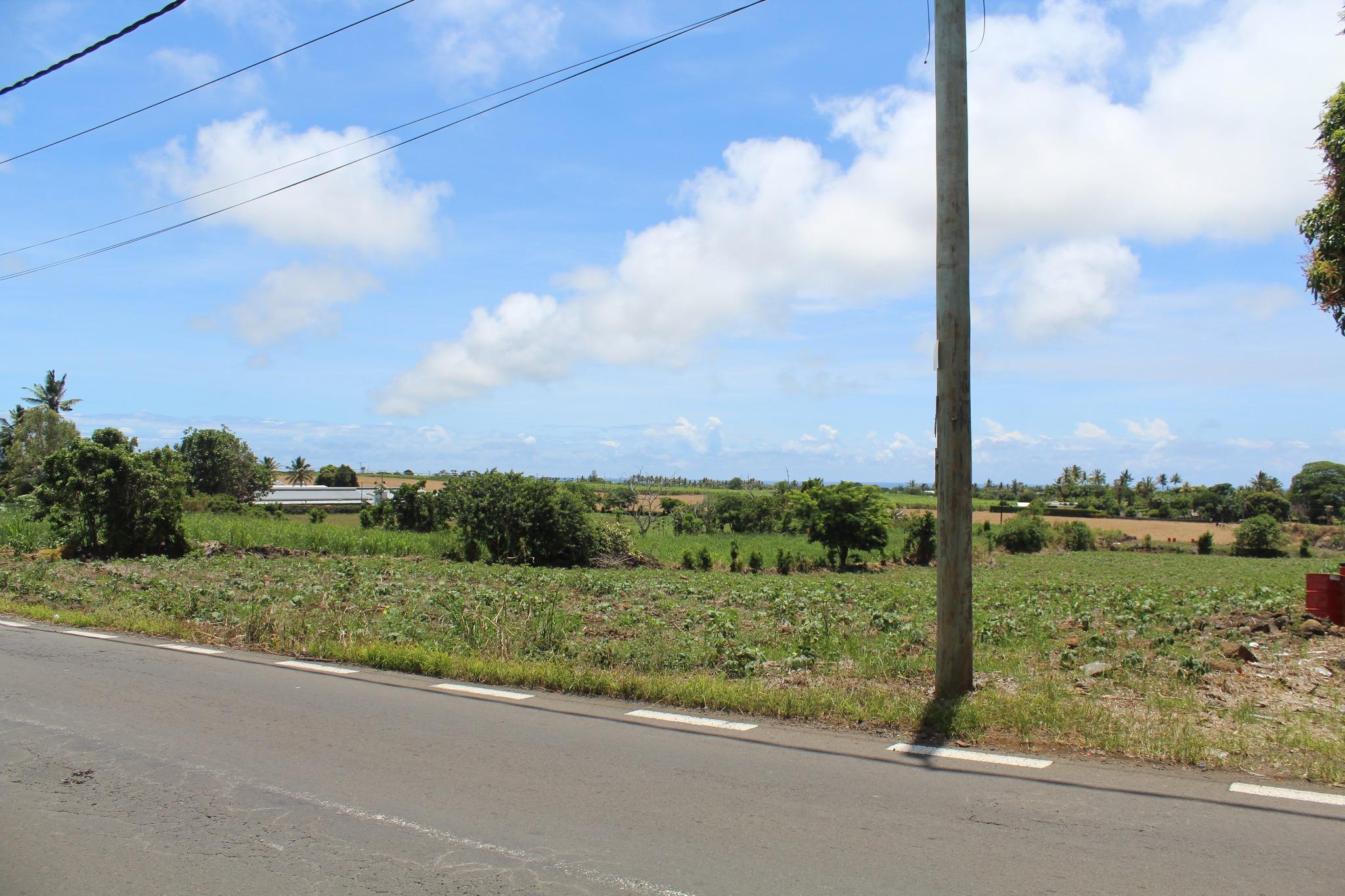 A VENDRE – Terrain agricole de 2 arpents 62 à Union Vale.