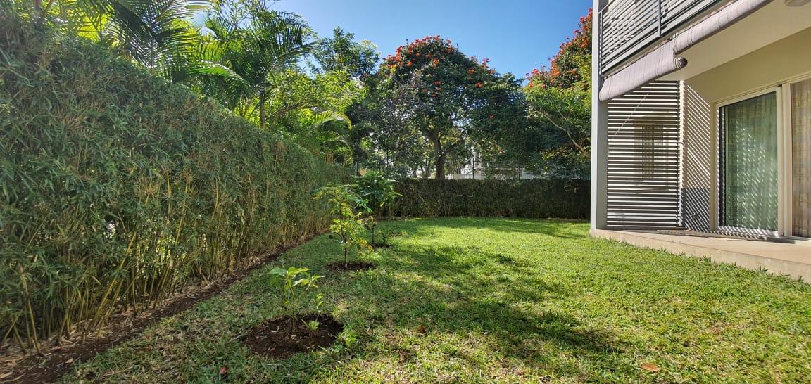 A LOUER – Charmant appartementau rez-de-chausséemeubléet équipé de80 m2donnant sur un beau jardin se situe aux Allées d'Helvétia Moka
